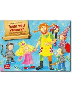 Bildkarten f. unser Erzähltheater: Jonas wird Prinzessin