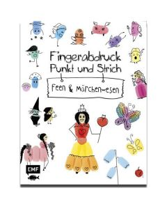 Fingerabdruck, Punkt und Strich - Feen und Märchenwesen