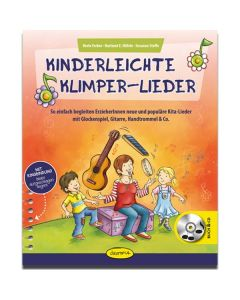 Kinderleichte Klimper-Lieder (inkl. Audio-CD)