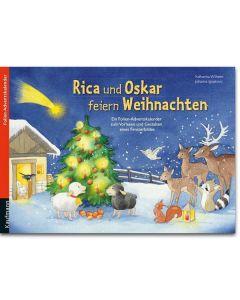 Rica und Oskar feiern Weihnachten (Folien-Adventskalender
