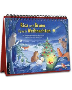 Rica und Bruno feiern Weihnachten (Folien-Adventskalender)