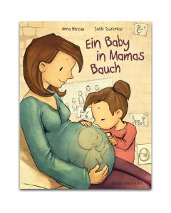 Ein Baby in Mamas Bauch
