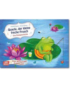 Quacki, der kleine freche Frosch (Bildkarten für unser musikalisches Erzähltheater)
