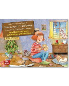 Nischa packt Geschenke (Bildkarten für unser Erzähltheater)
