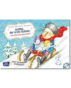 Juchhe, der erste Schnee. Eine Winterklanggeschichte (Bildkarten für unser musikalisches Erzähltheater)