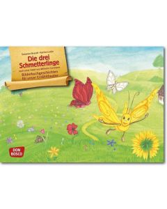 Die drei Schmetterlinge (Bildkarten für unser Erzähltheater)
