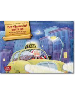Der Nikolaus hat viel zu tun (Bildkarten für unser Erzähltheater)