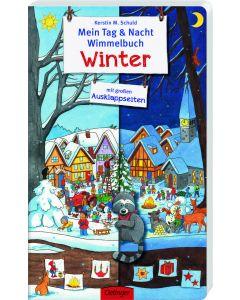 Mein Tag & Nacht Wimmelbuch Winter