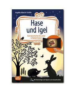 Hase und Igel (Geschichte für unser Schattentheater)