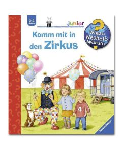 Junior: Komm mit in den Zirkus!
