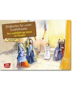 Der zwölfj. Jesus im Tempel (Bildkarten für unser Erzähltheater)
