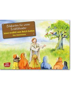 Jesus erzählt v. Reich Gottes (Bildkarte f. unser Erzähltheater)