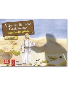 Jesus in der Wüste (Bildkarten für unser Erzähltheater)