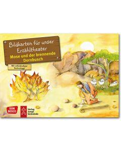 Mose und der brennende Dornbusch (Bildkarten für unser Erzähltheater)