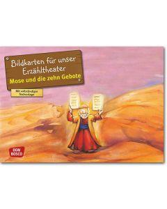 Mose und die 10 Gebote (Bildkarten für unser Erzähltheater)