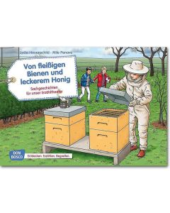 Von fleißigen Bienen und leckerem Honig (Bildkarten für unser Erzähltheater)