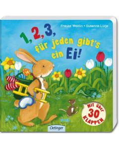 1,2,3 für jeden gibt's ein Ei!