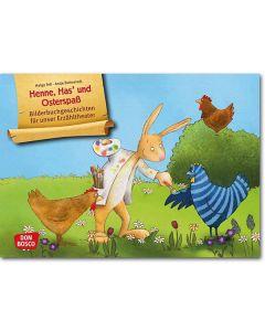 Henne, Has' und Osterspaß (Bildkarten für unser Erzähltheater)