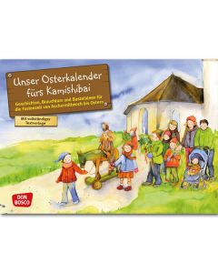 Unser Osterkalender (Bildkarten für unser Erzähltheater)