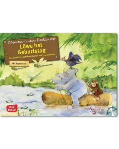 Löwe hat Geburtstag (Bildkarten für unser Erzähltheater inkl. CD)