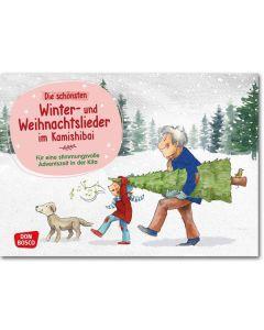 Die schönsten Winter- und Weihnachtslieder im Kamishibai (Bildkarten für unser Erzähltheater)