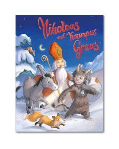 Nikolaus und Krampus Graus