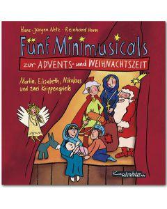 Fünf Minimusicals zur Advents- und Weihnachtszeit, 1 Audio-CD