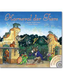 Karneval der Tiere, m. Audio-CD