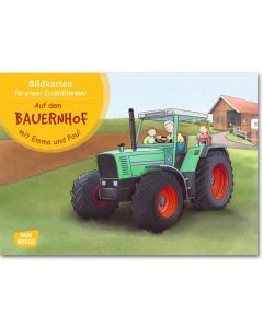 Auf dem Bauernhof mit Emma und Paul (Bildkarten für unser Erzähltheater)