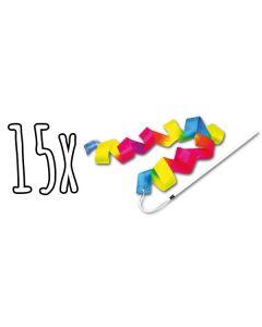15x Schwungbänder