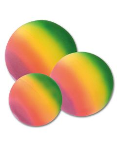 Schaumstoff Regenbogenball