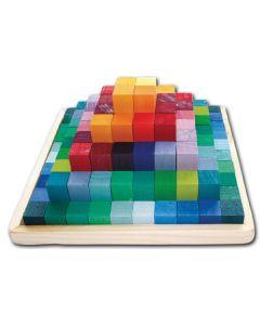 83431300 - Baukasten Stufenpyramide von Grimms