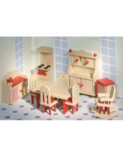 Puppenhaus Küche 11-teilig