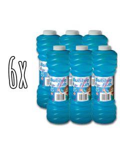 6x Seifenblasen-Flüssigkeit 1 Liter
