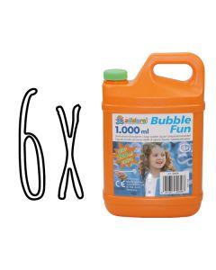 6 x 1,2L Seifenblasenflüssigkeit