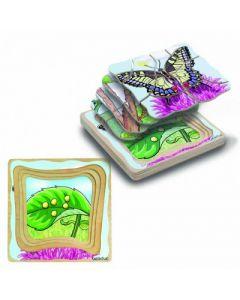 """Lagen-Puzzle """"Schmetterling"""""""