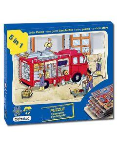 """Lagen-Puzzle """"Feuerwehr"""""""