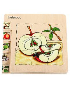 """Lagen-Puzzle """"Apfel"""""""