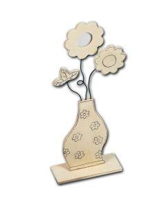 83760166 - Vase mit Fotorahmen