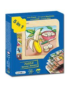 "Lagen-Puzzle ""Banane"""