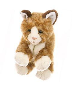 Kleine braune Katze 33 cm