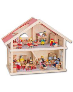 Puppenhaus Komplett-Set klein