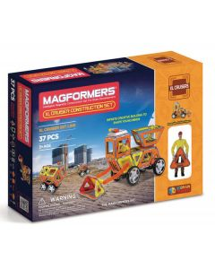 Magformers XL Cruiser Construction