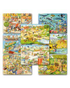 Rahmenpuzzle Set