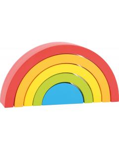 Regenbogen Holz klein
