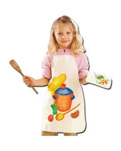 Schürze für Kinder - Gestaltungsbeispiel