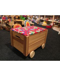 Spielzeugkiste mit Rädern