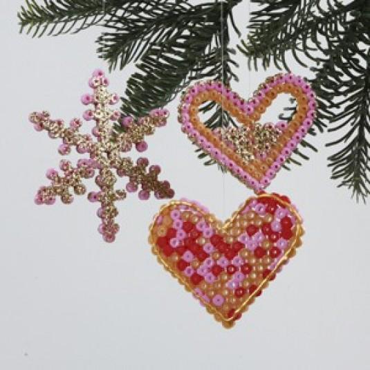 Weihnachtsschmuck Bügelperlen